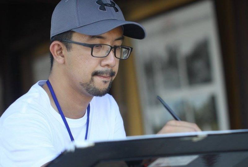 Photo of Marvin Chew, Watercolour Artist
