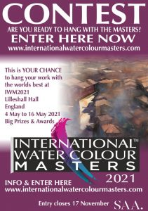 Keiko at IWM2021 Contest International Watercolour Masters IWM