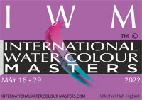 #iwm2022, International Watercolour Masters, the best artists, Lilleshall Hall, England, Exhibition open may 2022. iwm, iwm2022, #iwm, masters, best watercolour, awards, prizes, lilleshall, national, sports, AWS, aws, nws, ri,