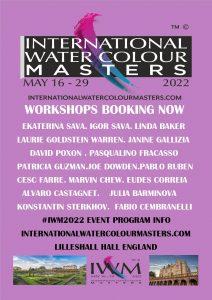 iwm, #iwm, #iwm2022, Masters, Lilleshall, Best watercolours, Exhibition, Must see, whats on iwm2022, international watercolour masters