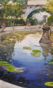 Pablo Ruben workshop at IWM2022, International Watercolour Masters. Booking Now at IWM.