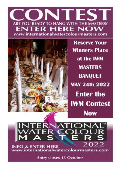 Masters Banquet at IWM2022, Alvaro Castagnet, David Poxon, RI, Fabio Cembranelli, Eudes Correia, Patricia Guzman, Jukia Barminova, Joe Dowden, Veneta Docheva, Mary Whyte, Dean Mitchell, Ilya, Matthew Bird, Cesc Farre, Pablo Ruben Lopez, Sans, Konstantine Sterchov. Laurie Goldstein at Masters Banquet IWM2022. Dan Mccrary, David Stickel IWM2022 Prize winner at Masters Banquet IWM2022.